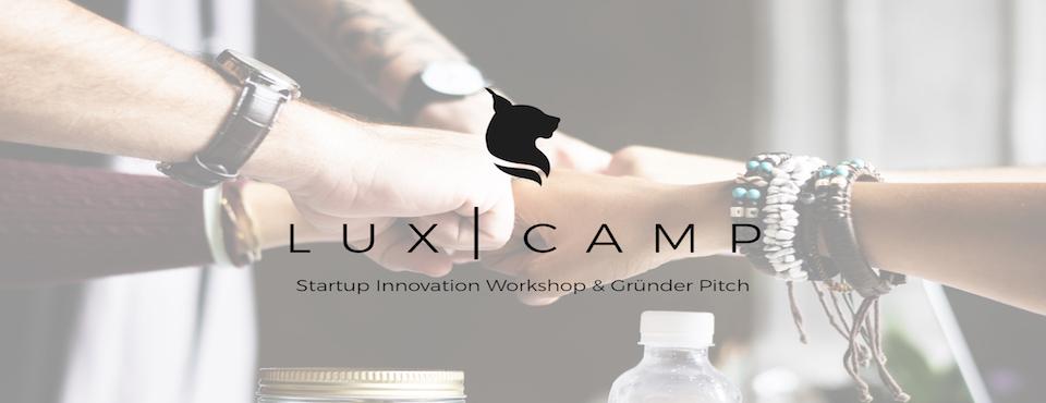 LUX   CAMP Würzburg – Startup Workshop: Design Thinking & Gründer Pitch